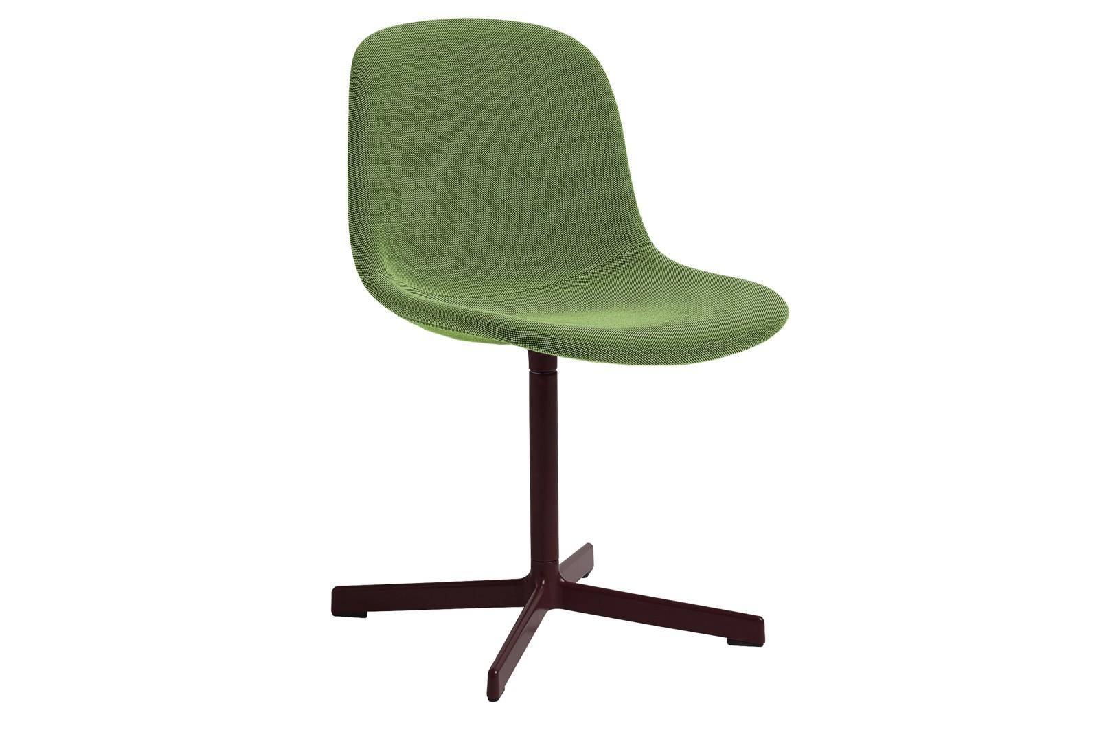 Neu10 Upholstered Chair, Bordeaux Base Steelcut 2 110