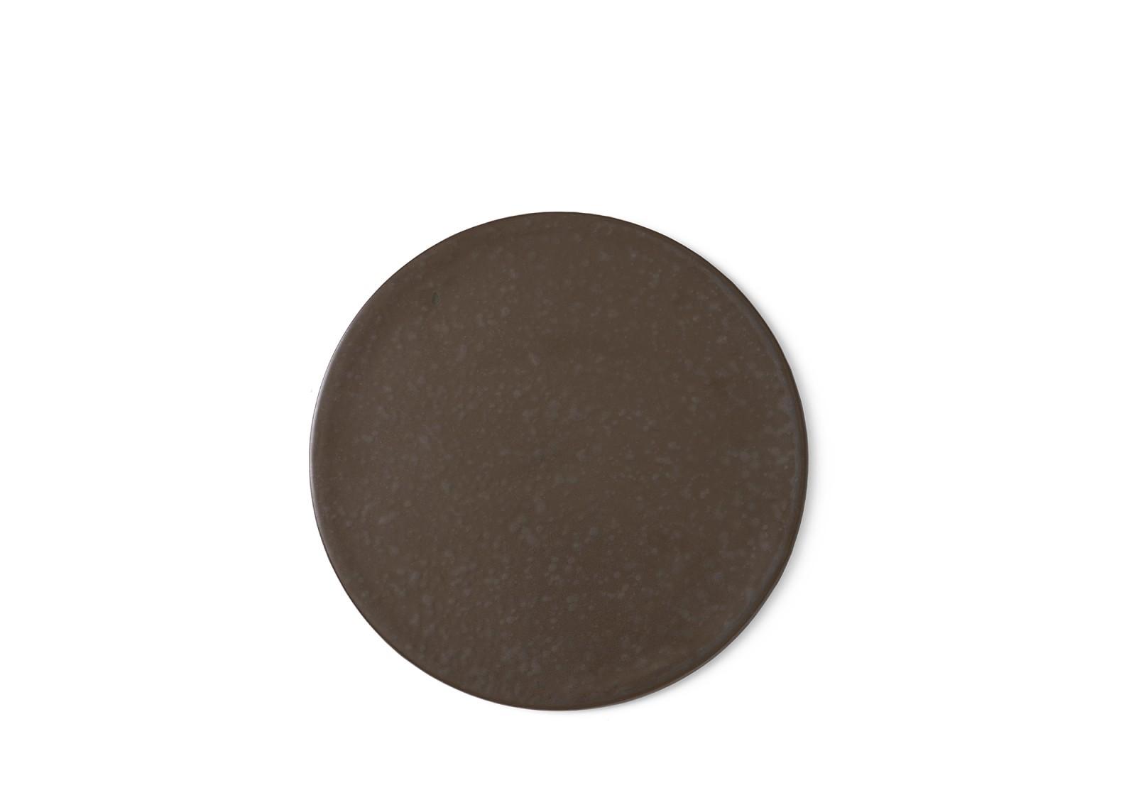 New Norm Plate/Lid Diameter 21.5, Dark Glazed