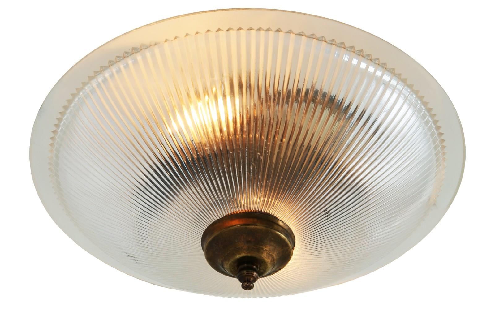Nicosa Ceiling Light Antique Brass