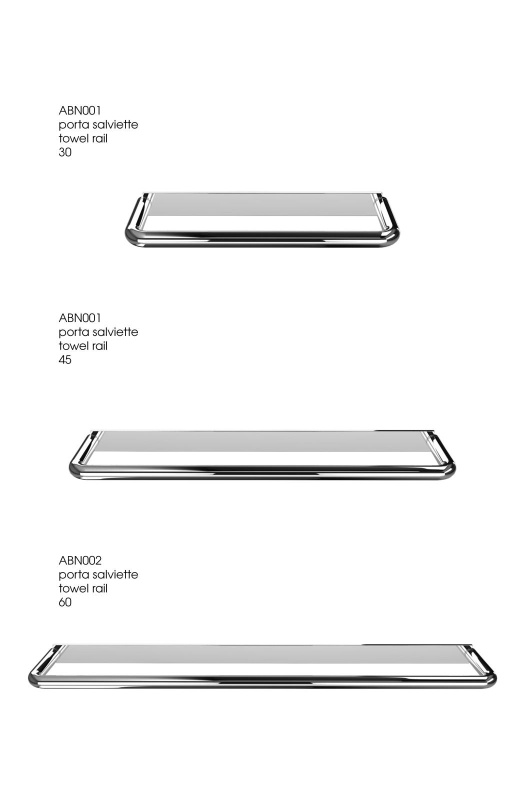 Nina - accessori bagno Towel rail 30cm