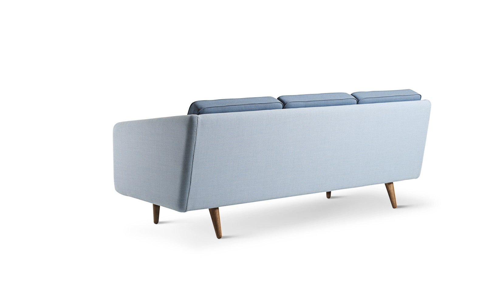 No. 1 3-seater Sofa Breeze Fusion 4602, Crisp 4604, oak lacquered base