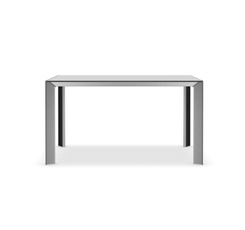 Nori Alucompact® / Pure-white / Fenix-NTM® Fixed - Depth 100 cm 289 cm, Anodised Aluminium,