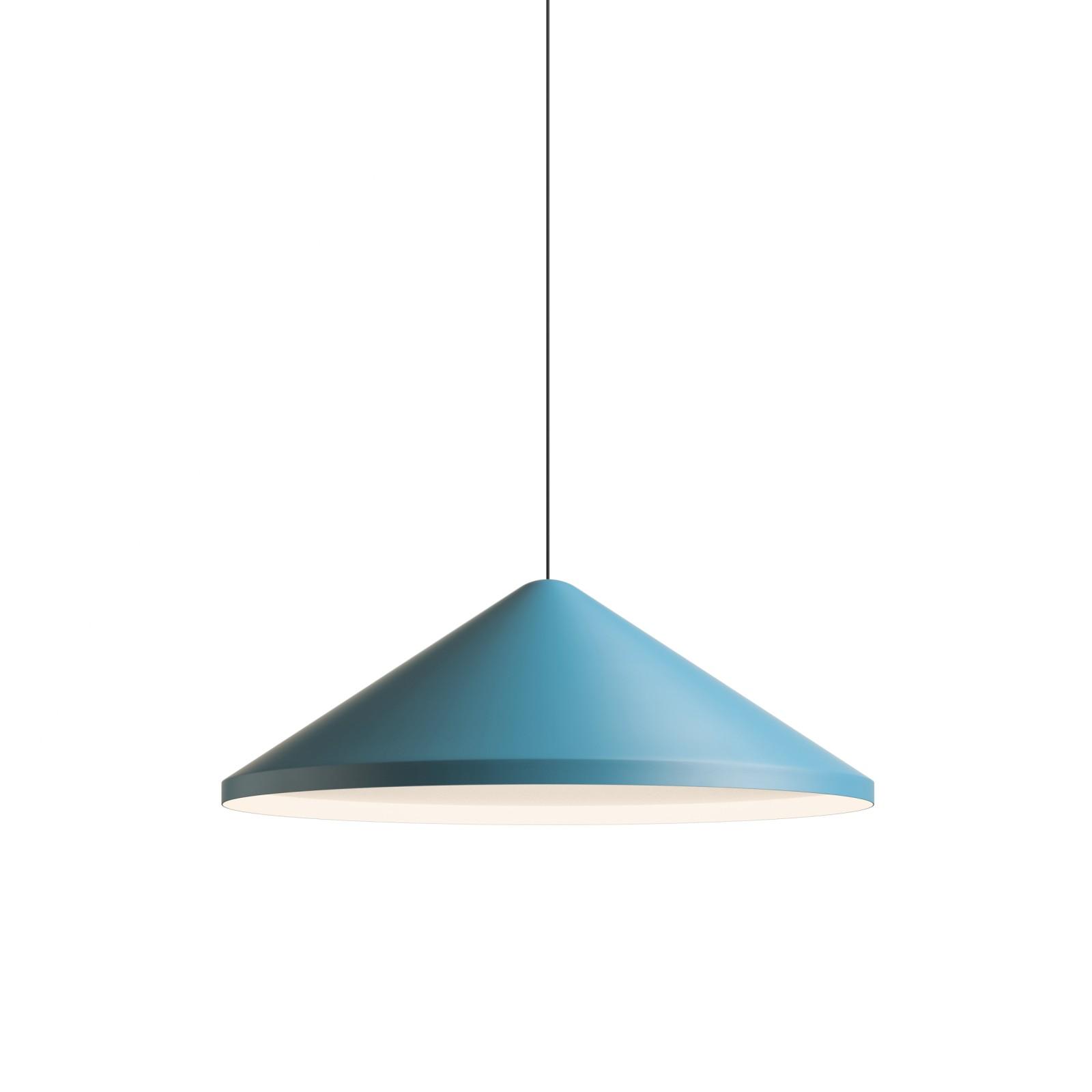 North Pendant Light Matt Blue Lacquer, 60cm
