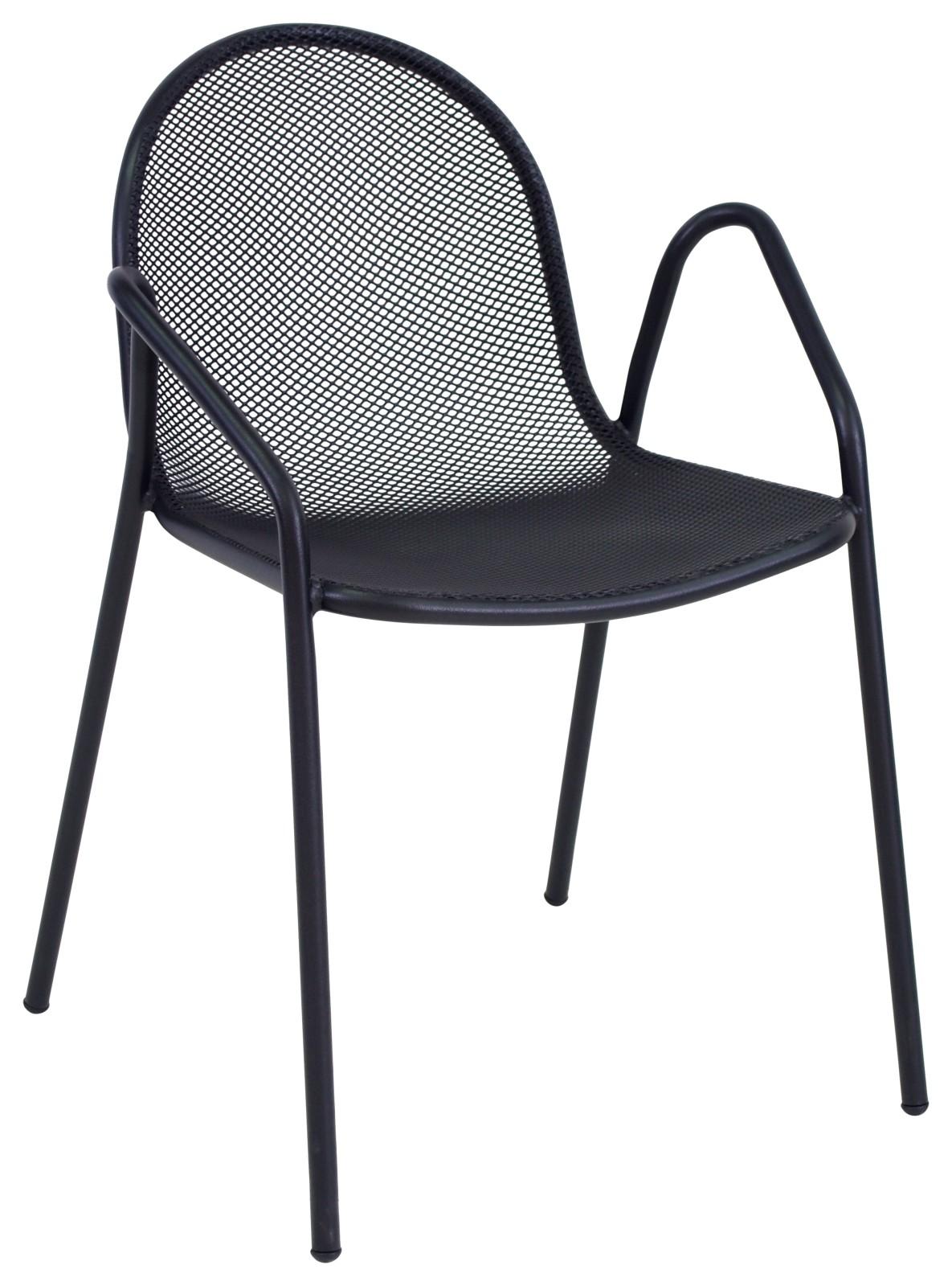 Nova Armchair - Set of 4 Black 24
