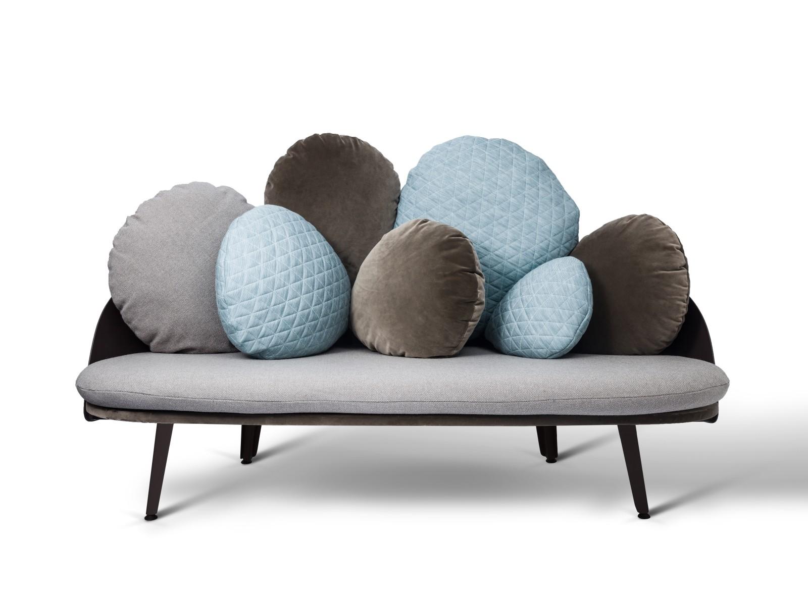 Nubilo Sofa Beige, Turquoise
