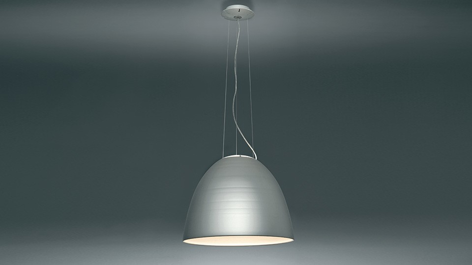Nur 1618 LED Pendant Light Aluminium Grey