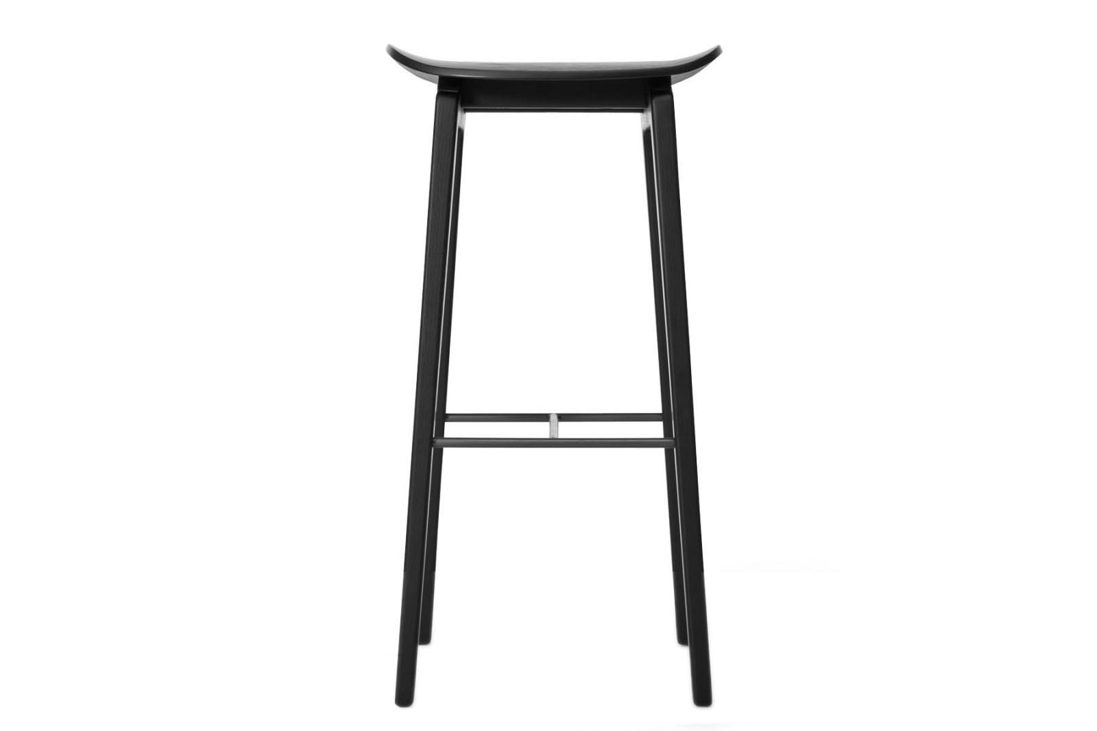 NY11 Bar Chair Black, High