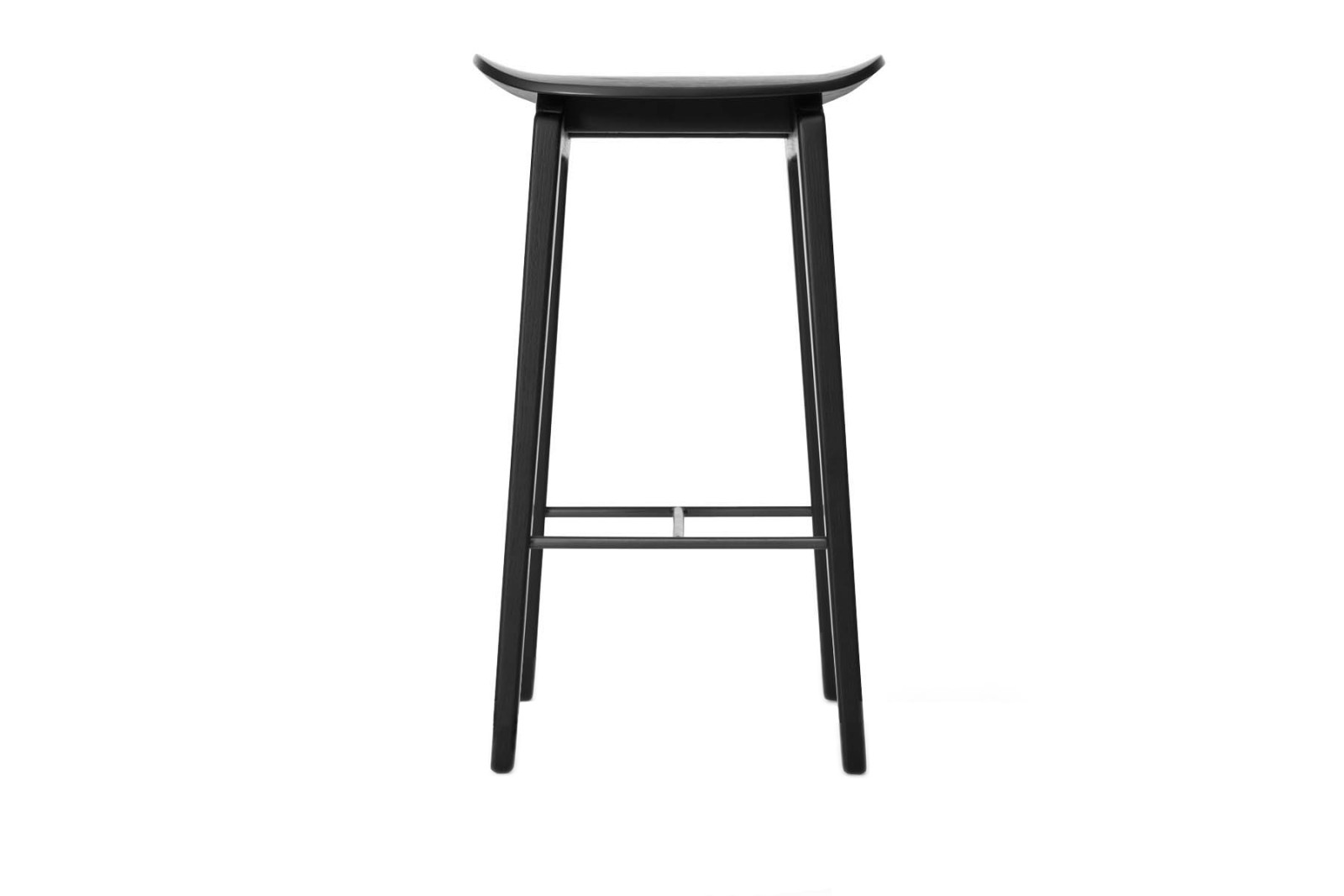 NY11 Bar Chair Black, Low