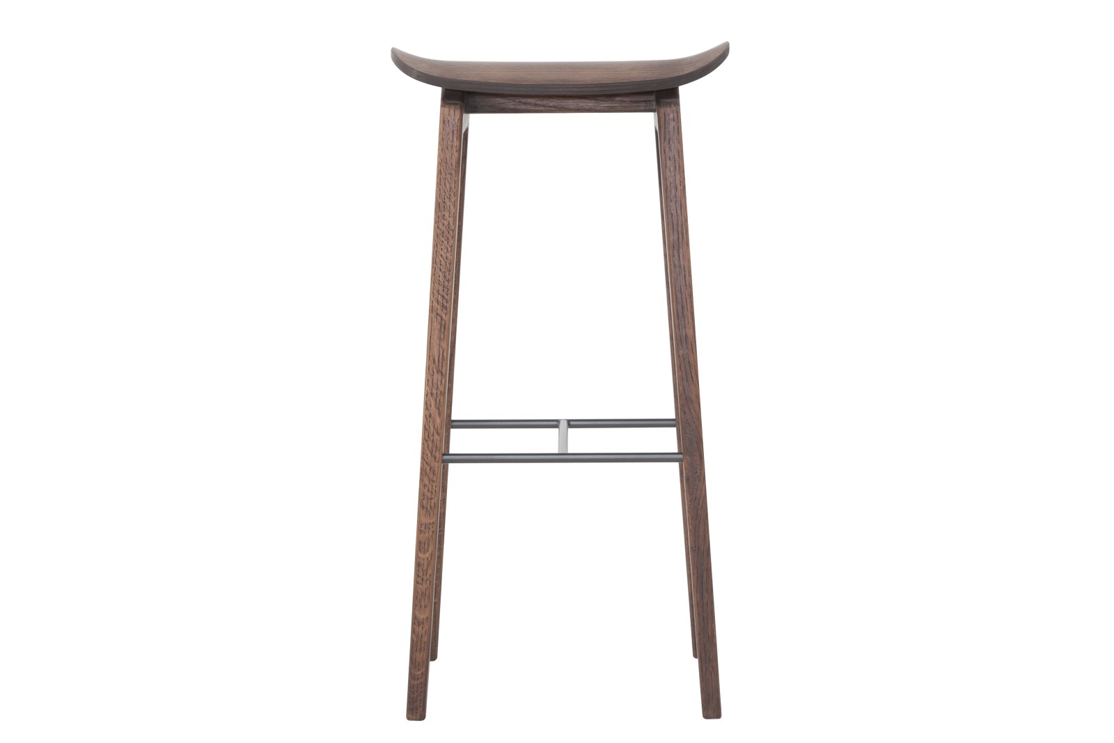NY11 Bar Chair Walnut, High