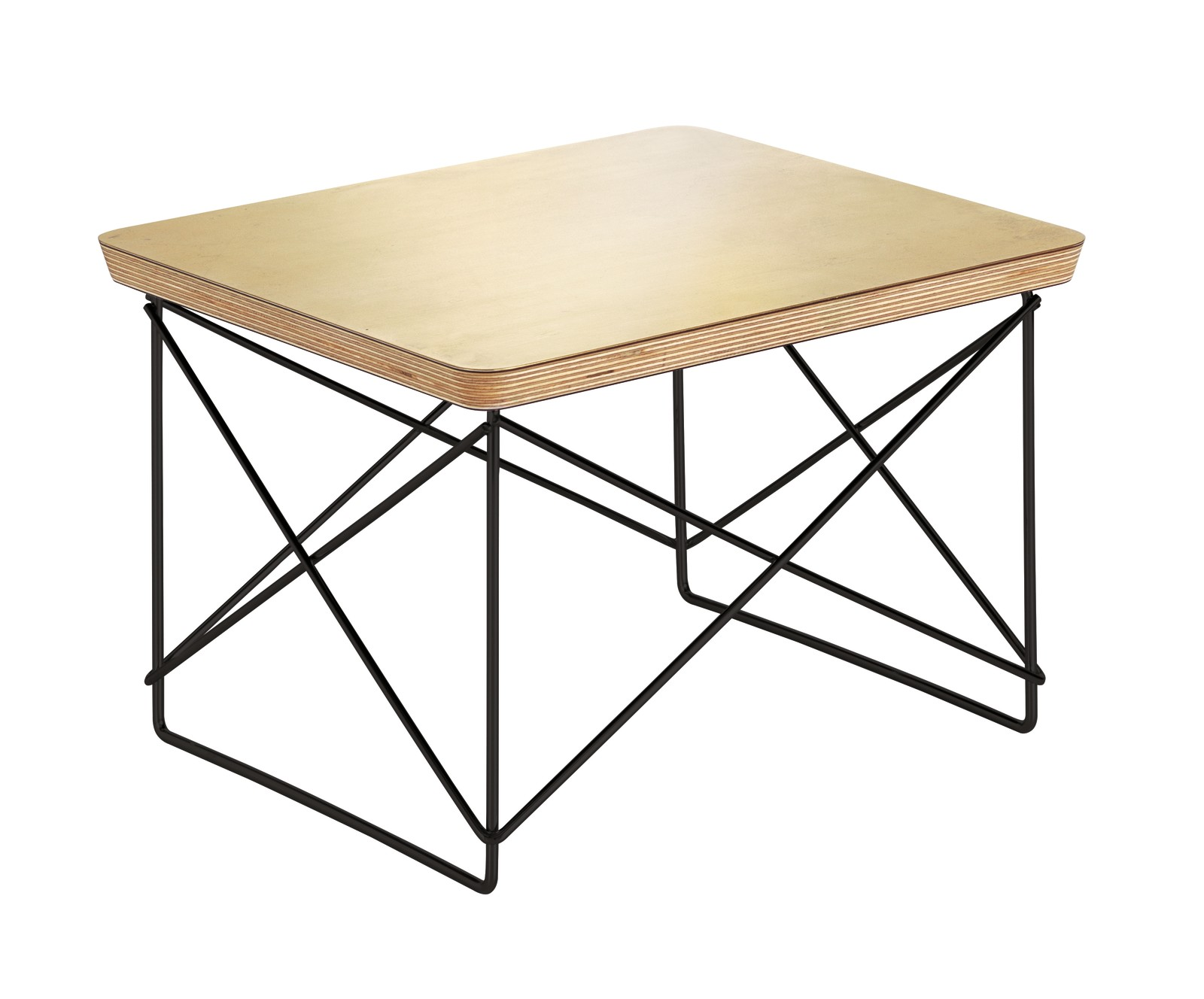 Occasional Table LTR Gold leaf, base basic dark