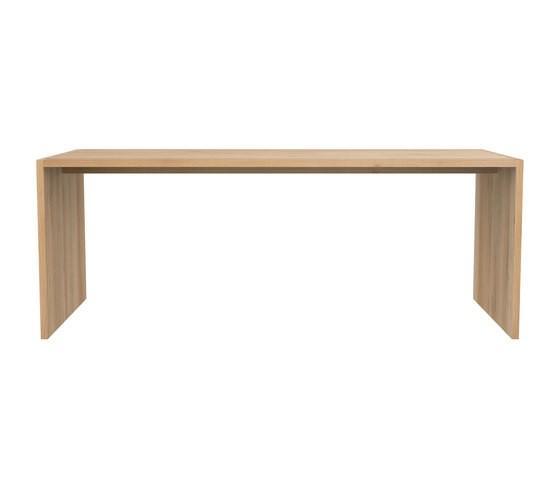 Office U Table Oak, 200 x 88 x 75 cm