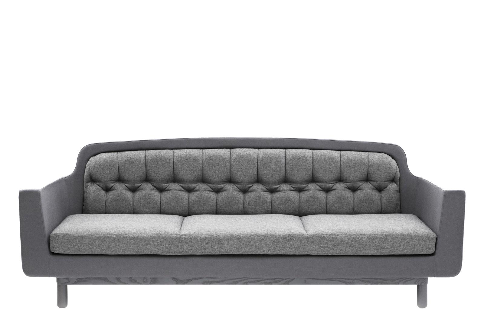 Onkel 3 Seater Sofa Light Grey