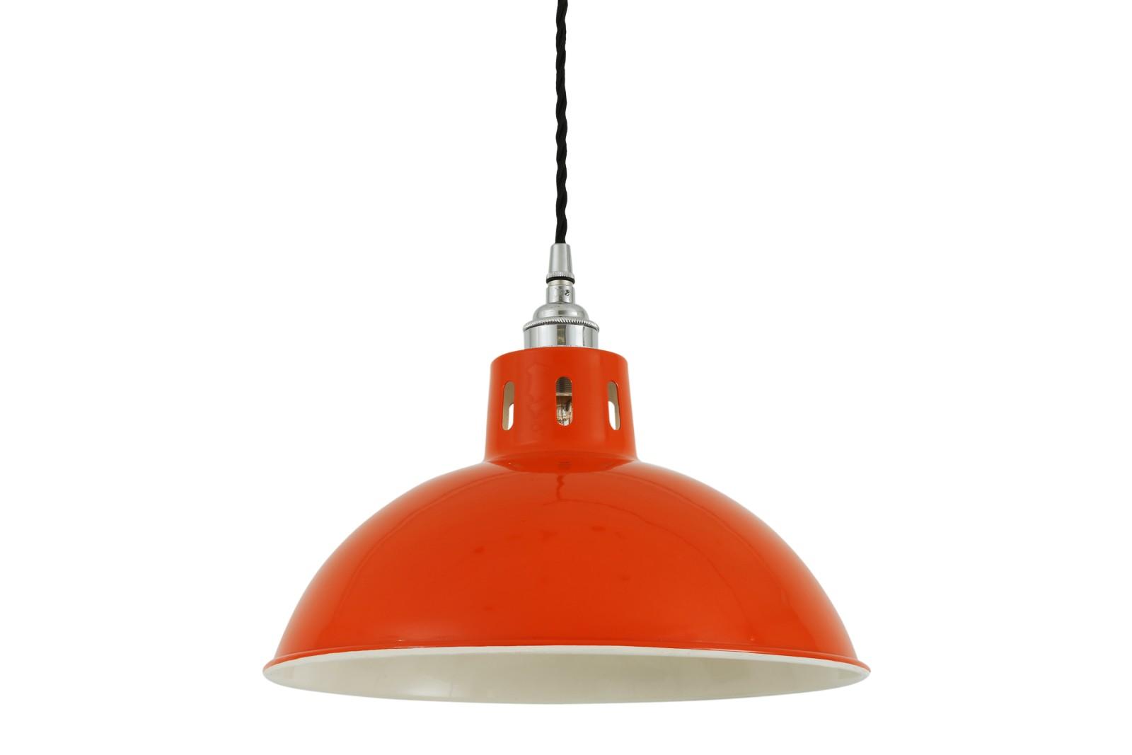Osson Pendant Light Powder Coated Orange