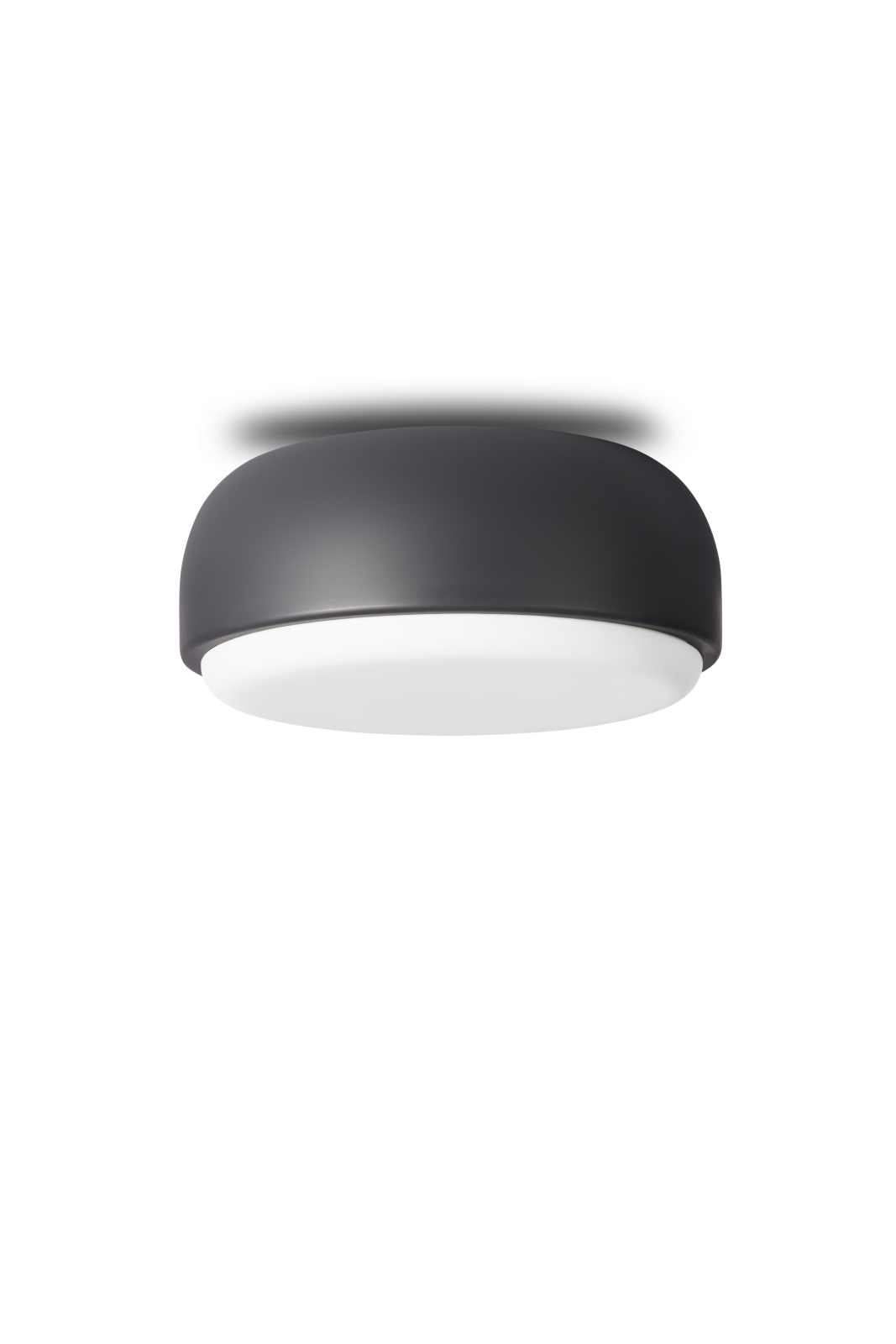 Over Me Ceiling/Wall Light Dark Grey, Small