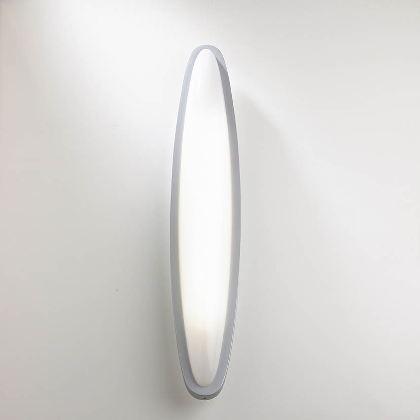 OVO Wall Lamp LED, Matte Grey