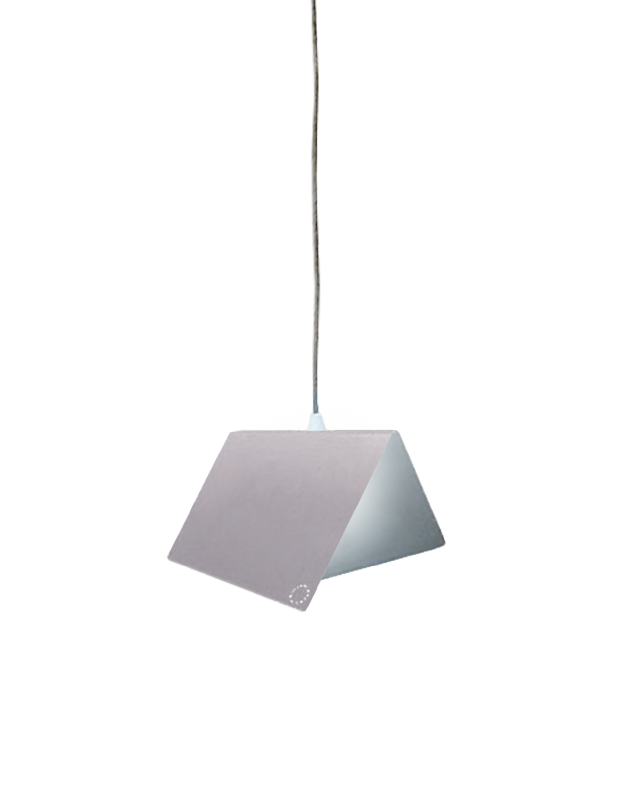 Papillon Pendant Light Light Grey