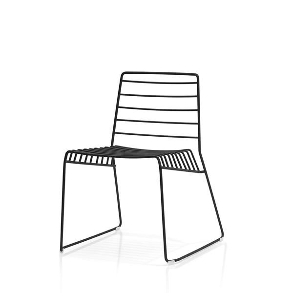 Park Chair Black