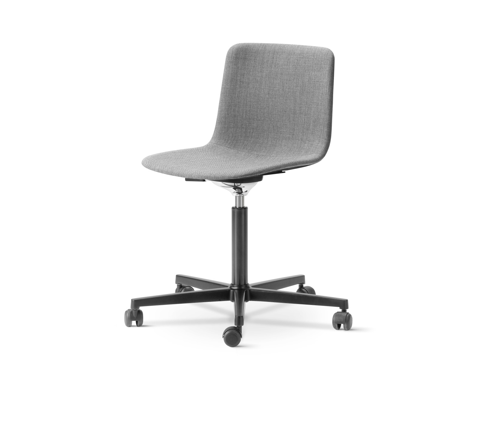 Pato Office Chair Fully Upholstered Chrome Steel, Remix 2 143