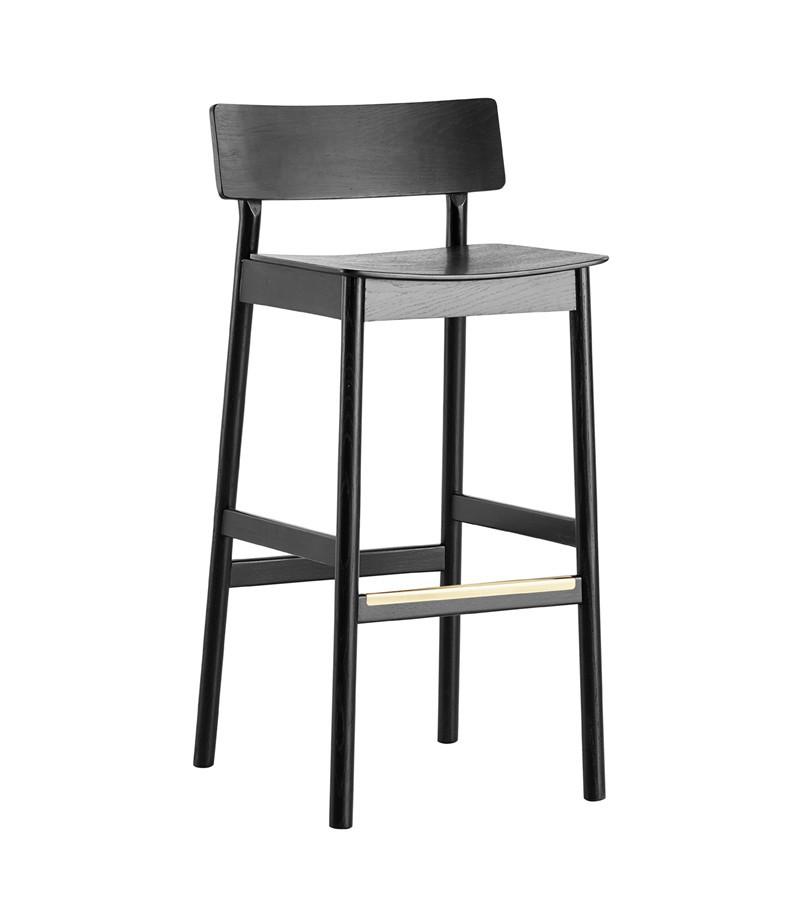 Pause bar stool Black