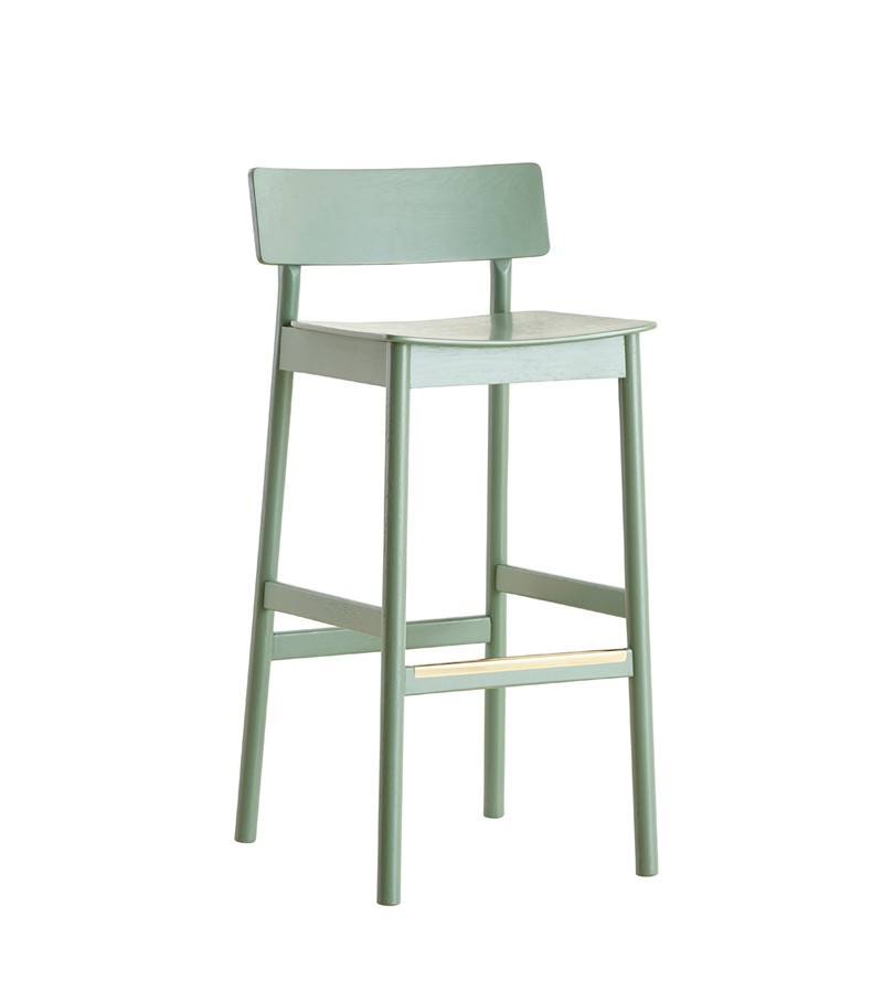 Pause counter chair Green