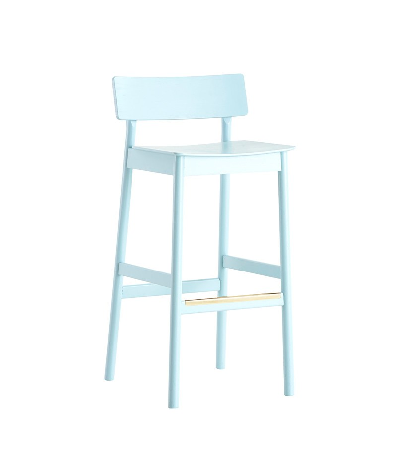 Pause counter chair Light blue
