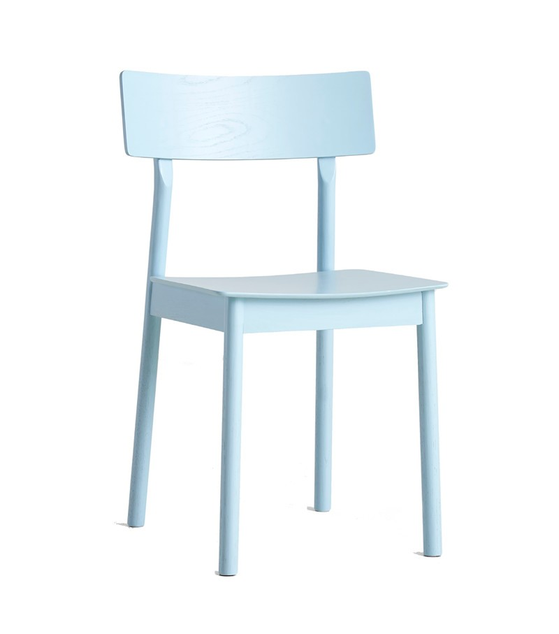 Pause dining chair - set of 2 Light blue