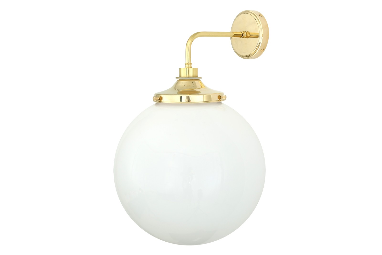Pelagia Wall Light Polished Brass