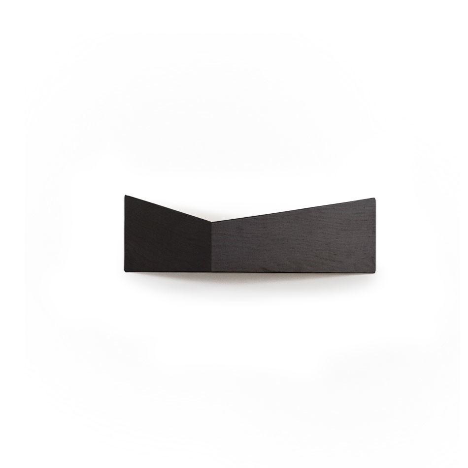 Pelican Shelf with hidden hooks Black, Small