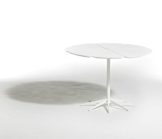 Petal Dining Table - 107x71 71H x 107 D cm