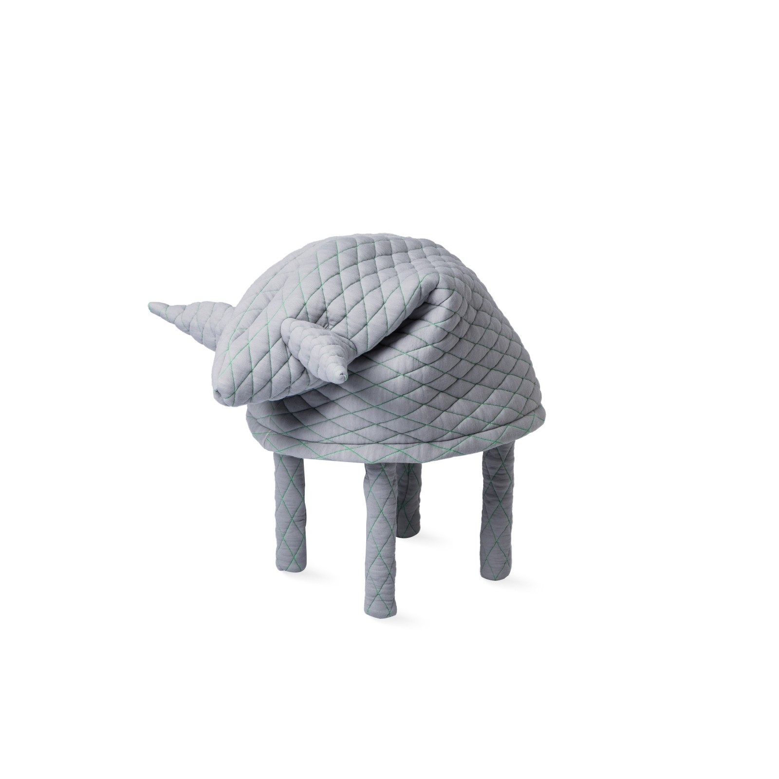 Petstool Fin Light Grey