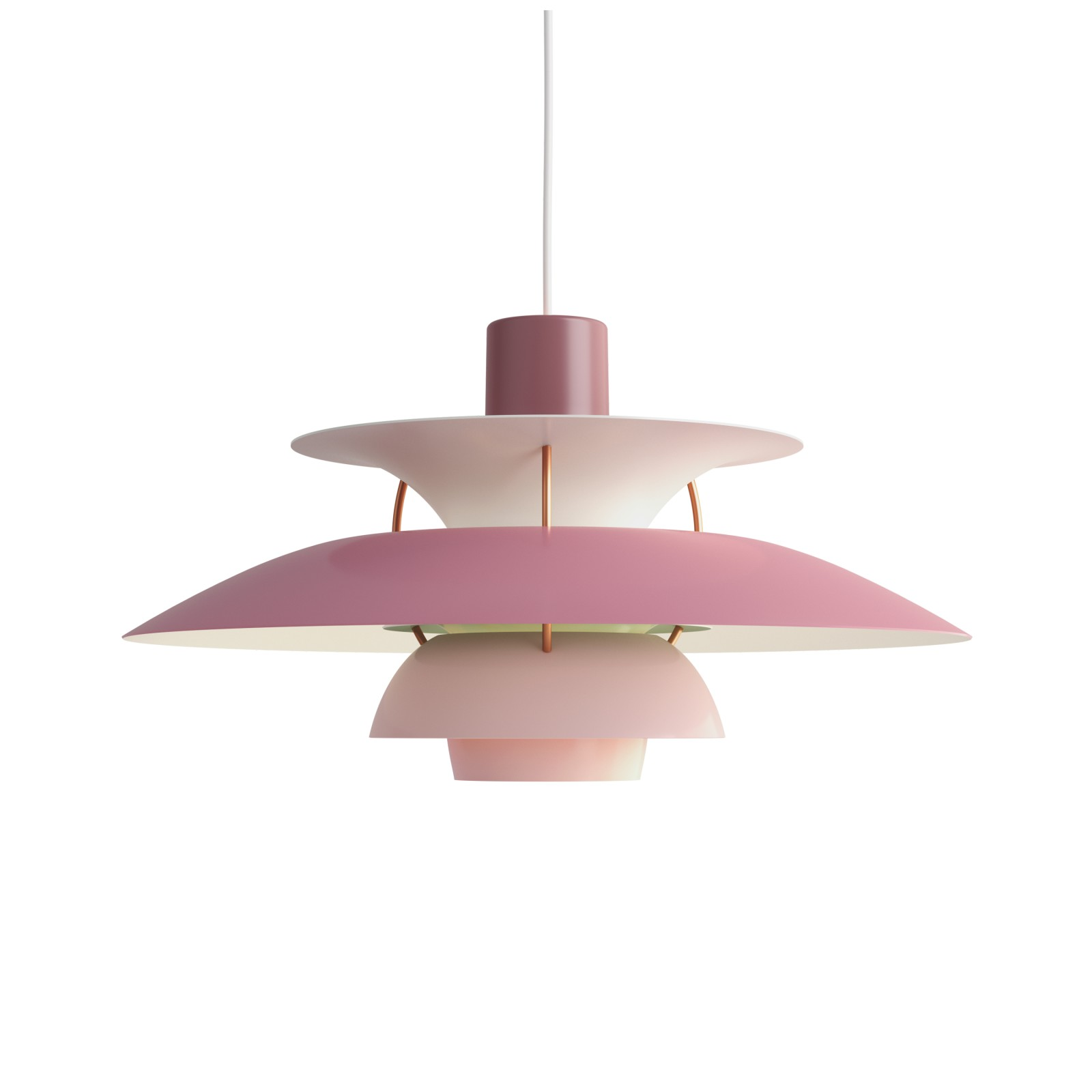 PH 5 Pendant Light Hues of Rose