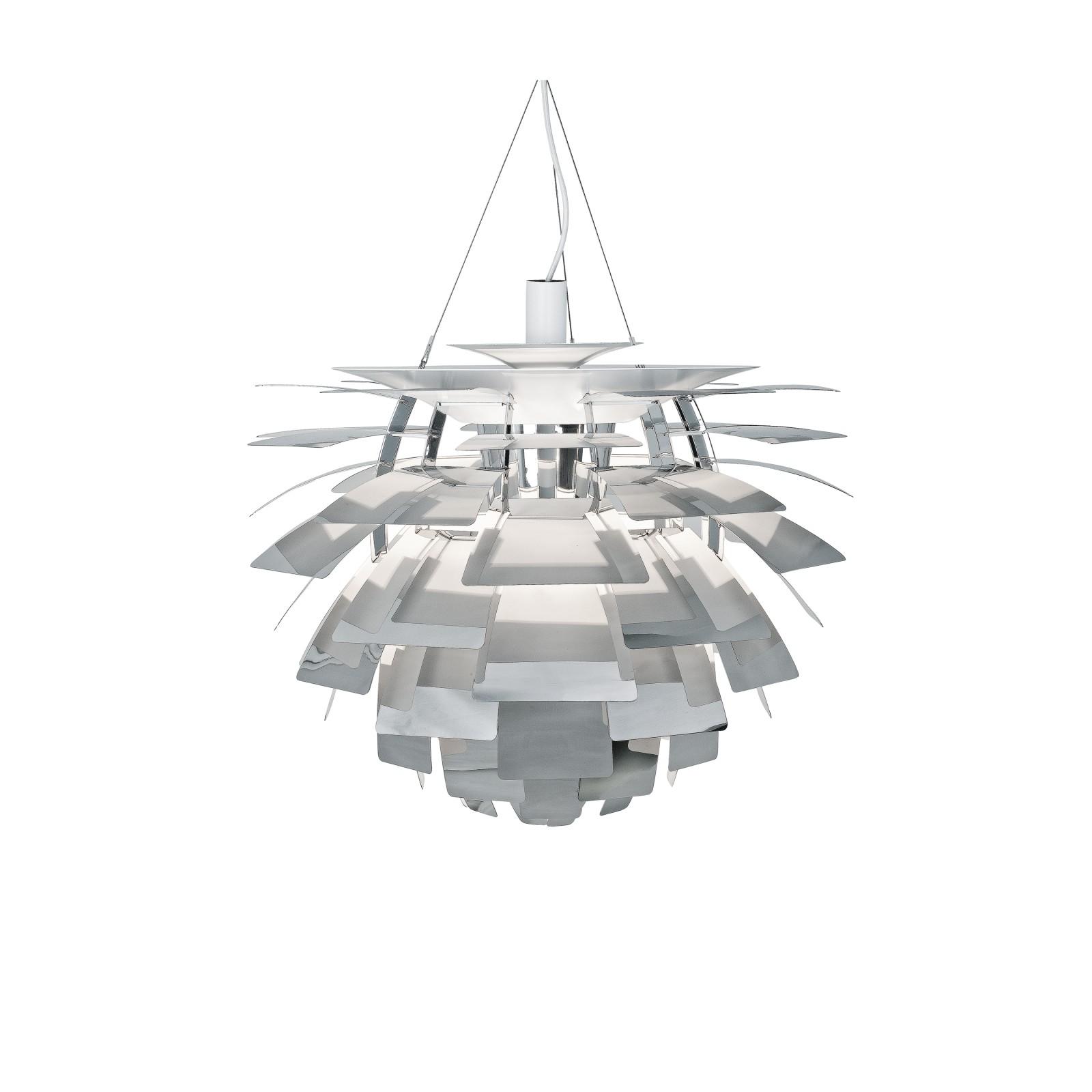 PH Artichoke Pendant Light 0 48, Polished Stainless Steel