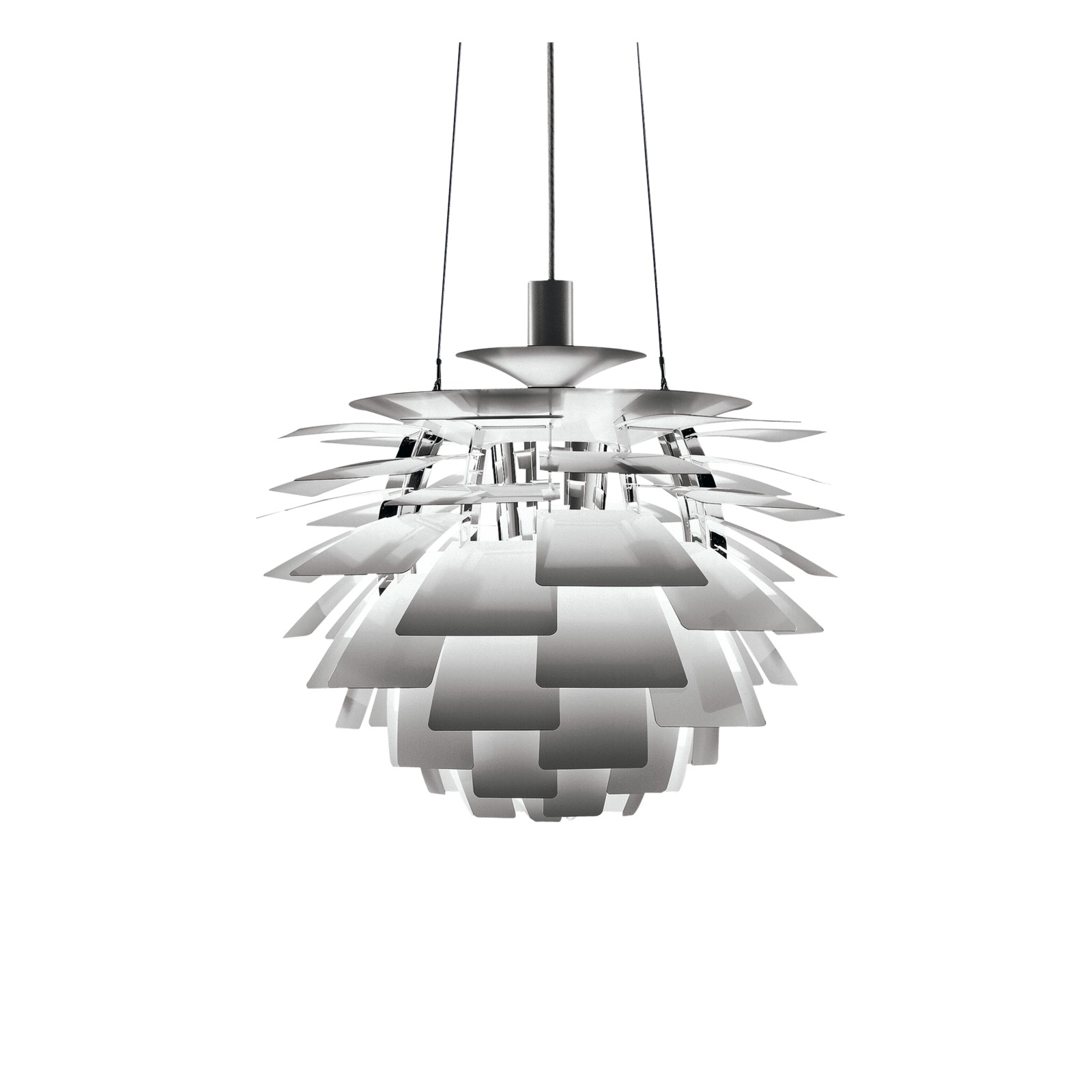 PH Artichoke Pendant Light 0 48, Stainless Steel