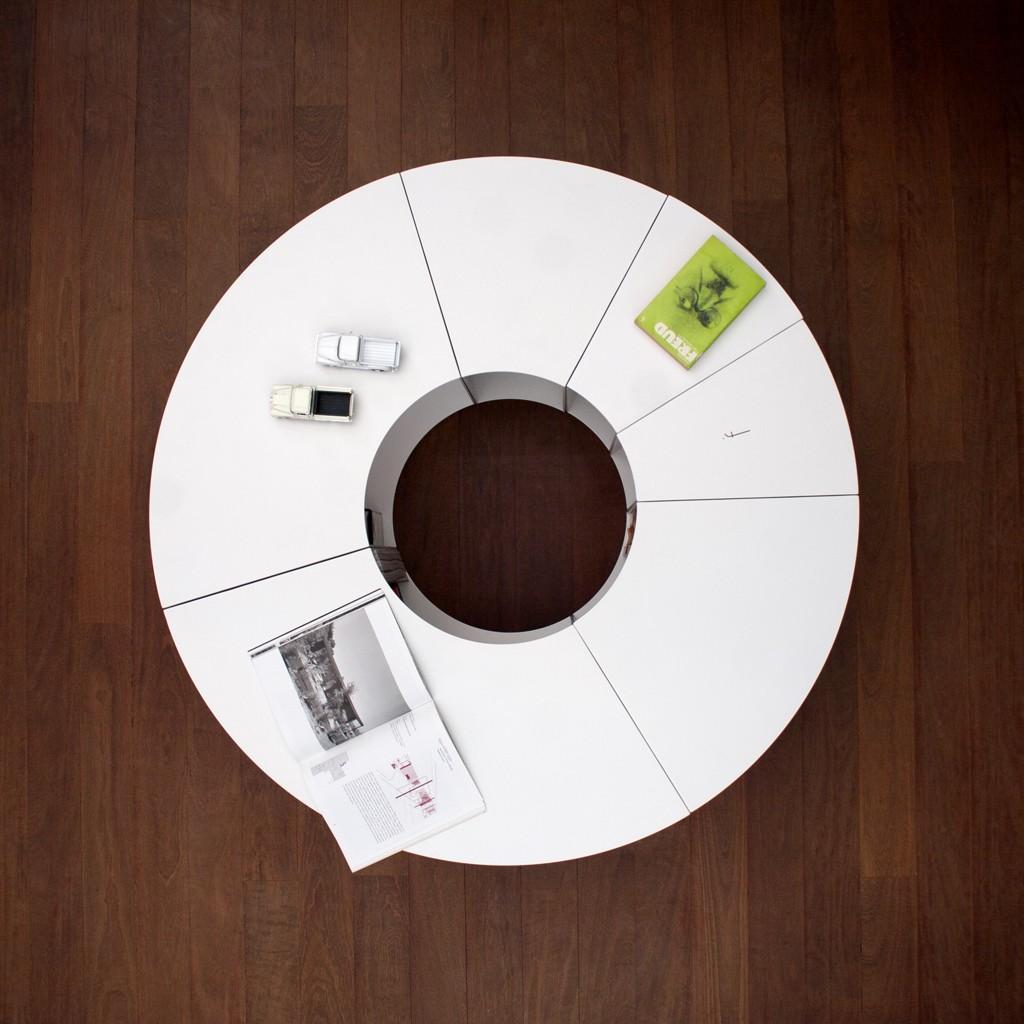 Pie Table White
