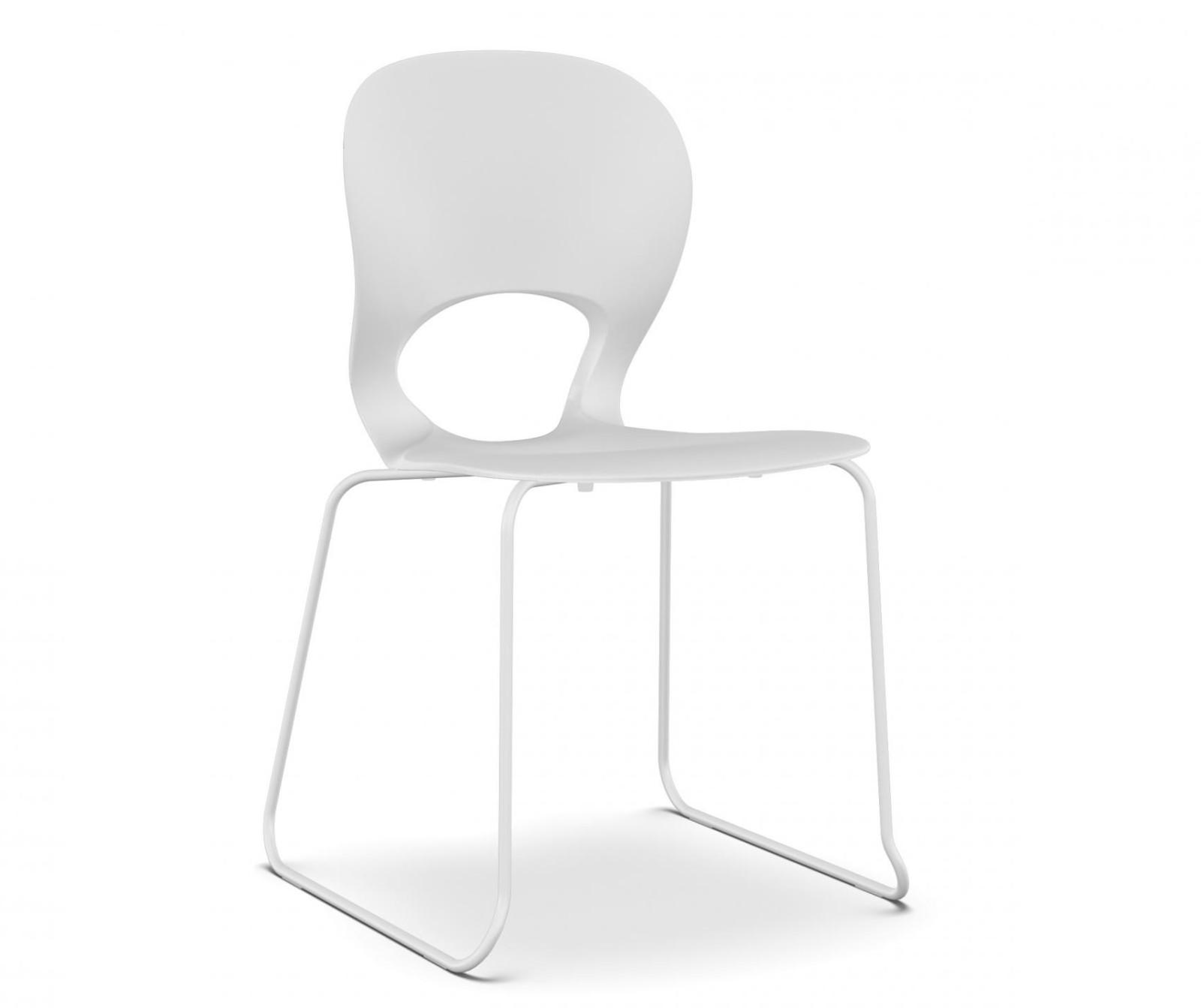Pikaia Slide Frame Chair White, White