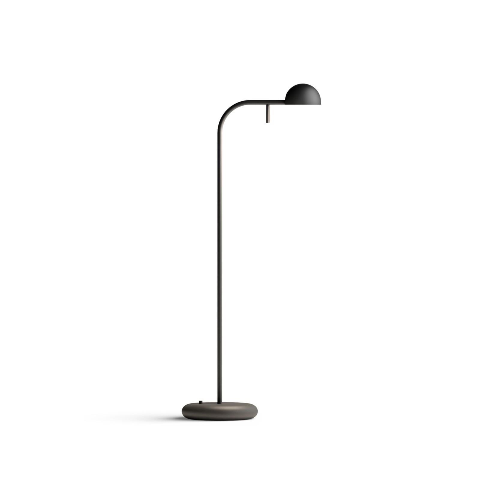 Pin Table Lamp Matt Black Lacquer, 23