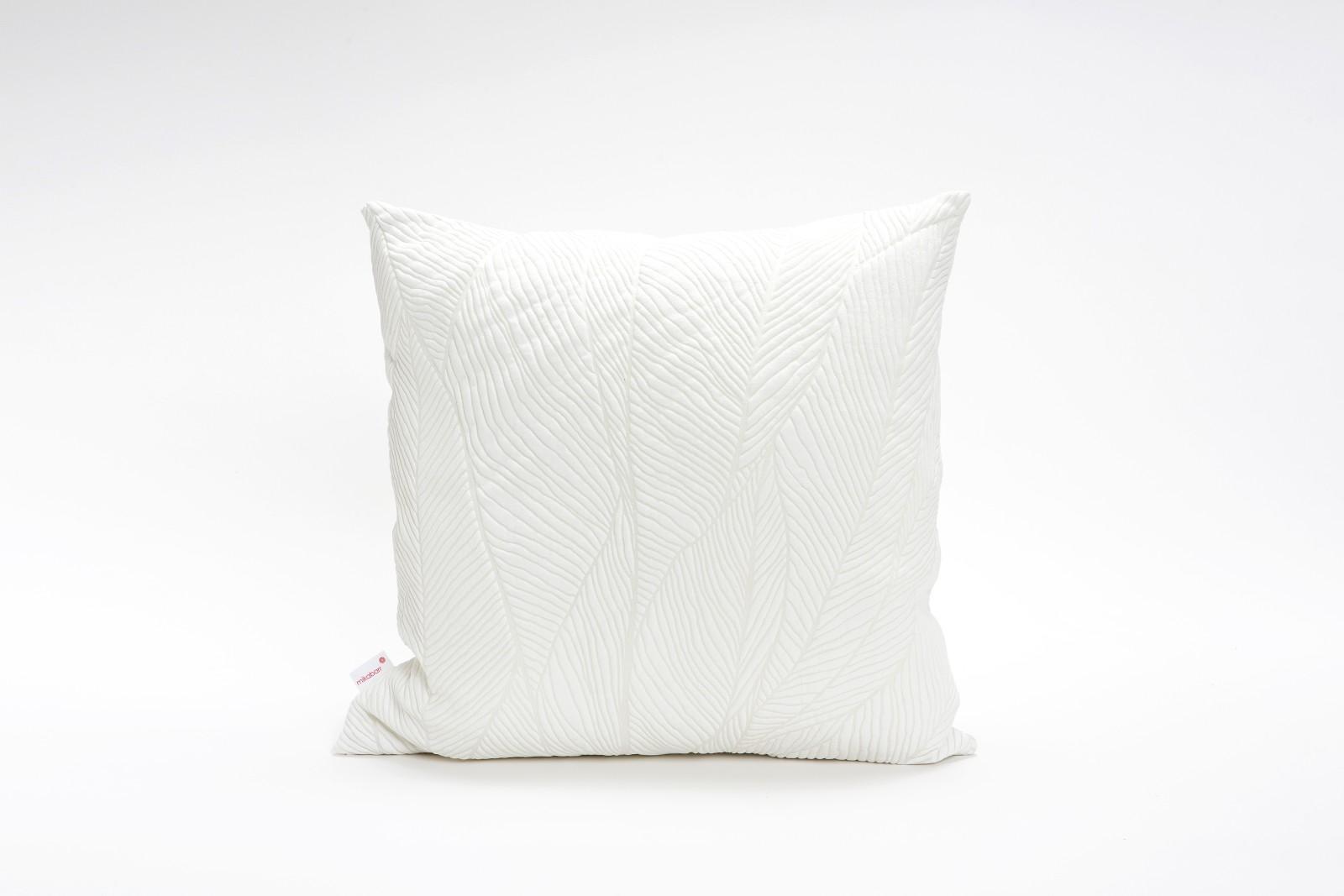 Pinion Square Cushion Cover Pinion White