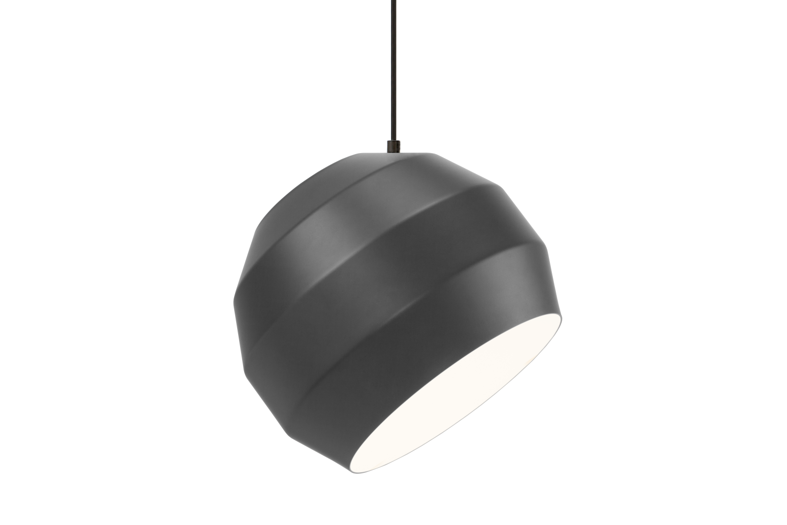 Pitch Pendant Light Dark Grey