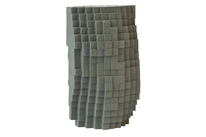 Pixel Vase Number 0067, Medium