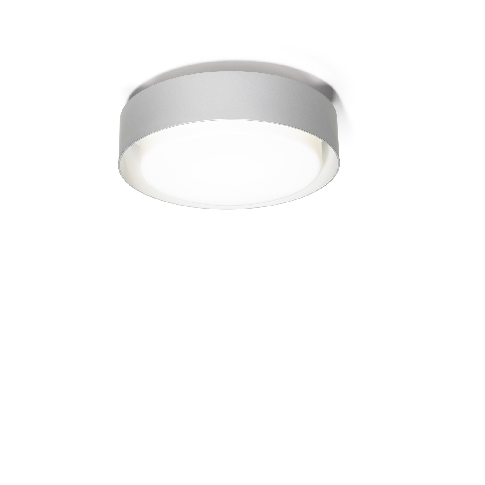 Plaff-on! Ceiling Light - LED Marset - Silver Grey, 33cm, Triac