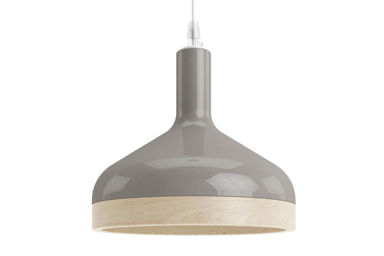 Plera Suspension Lamp Grey