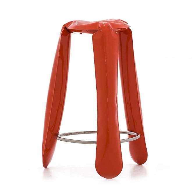 Plopp Barstool Red