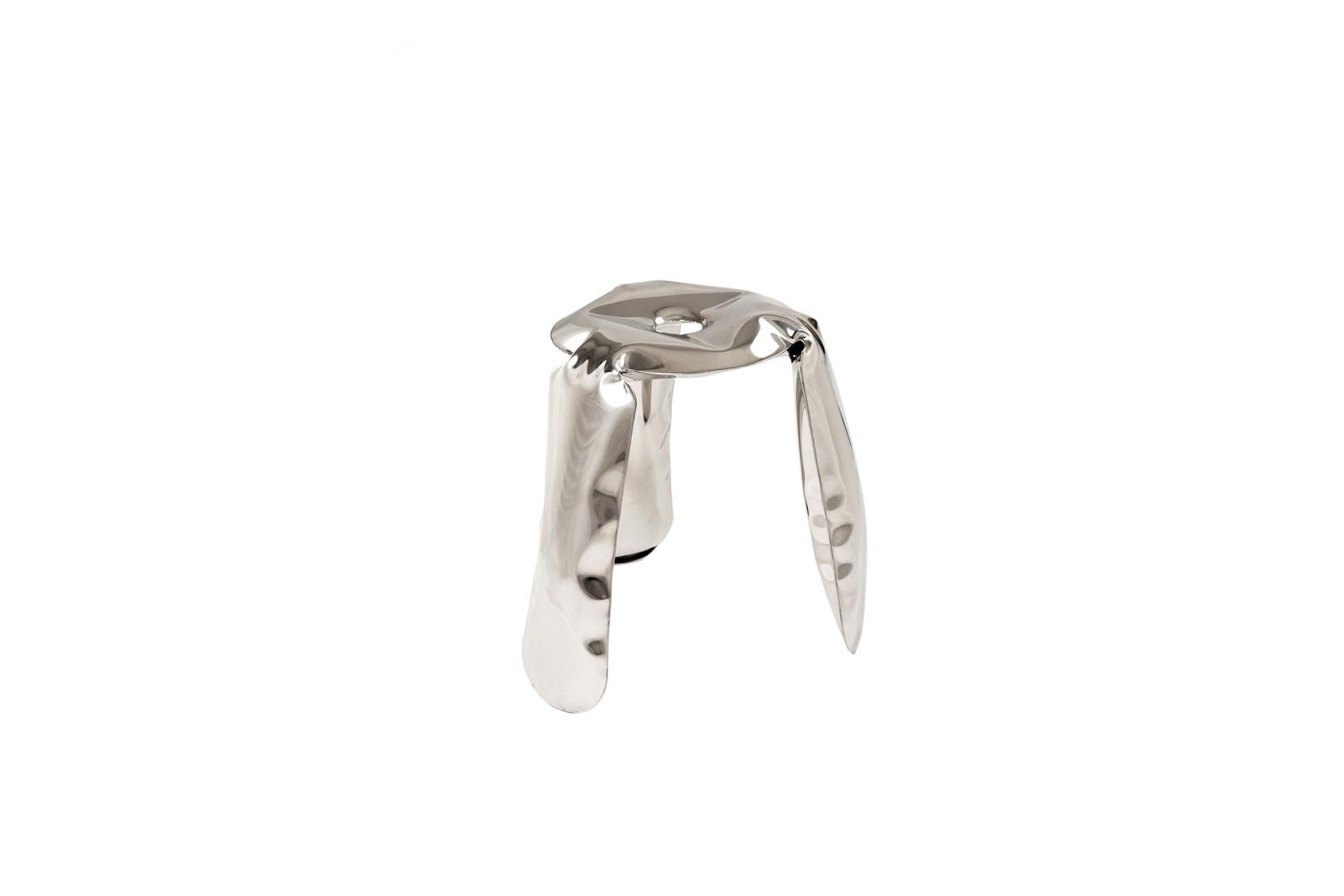 Plopp Inox Stool Mini