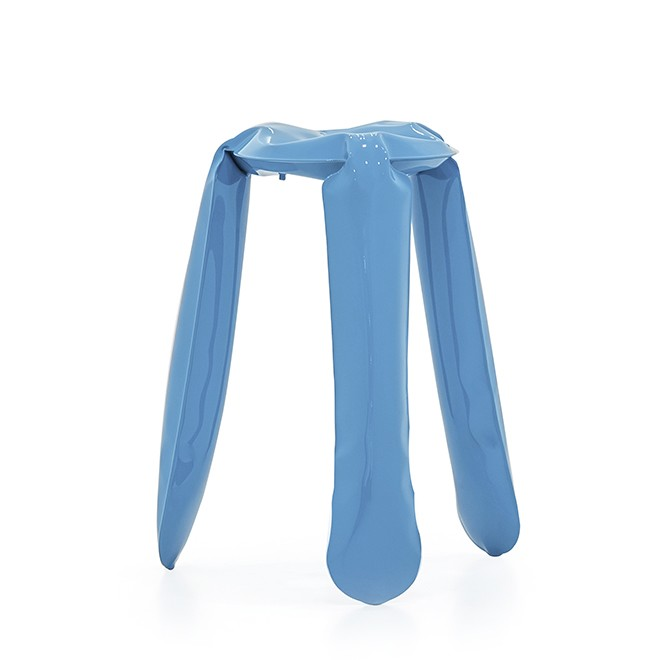 Plopp Kitchen Stool Blue