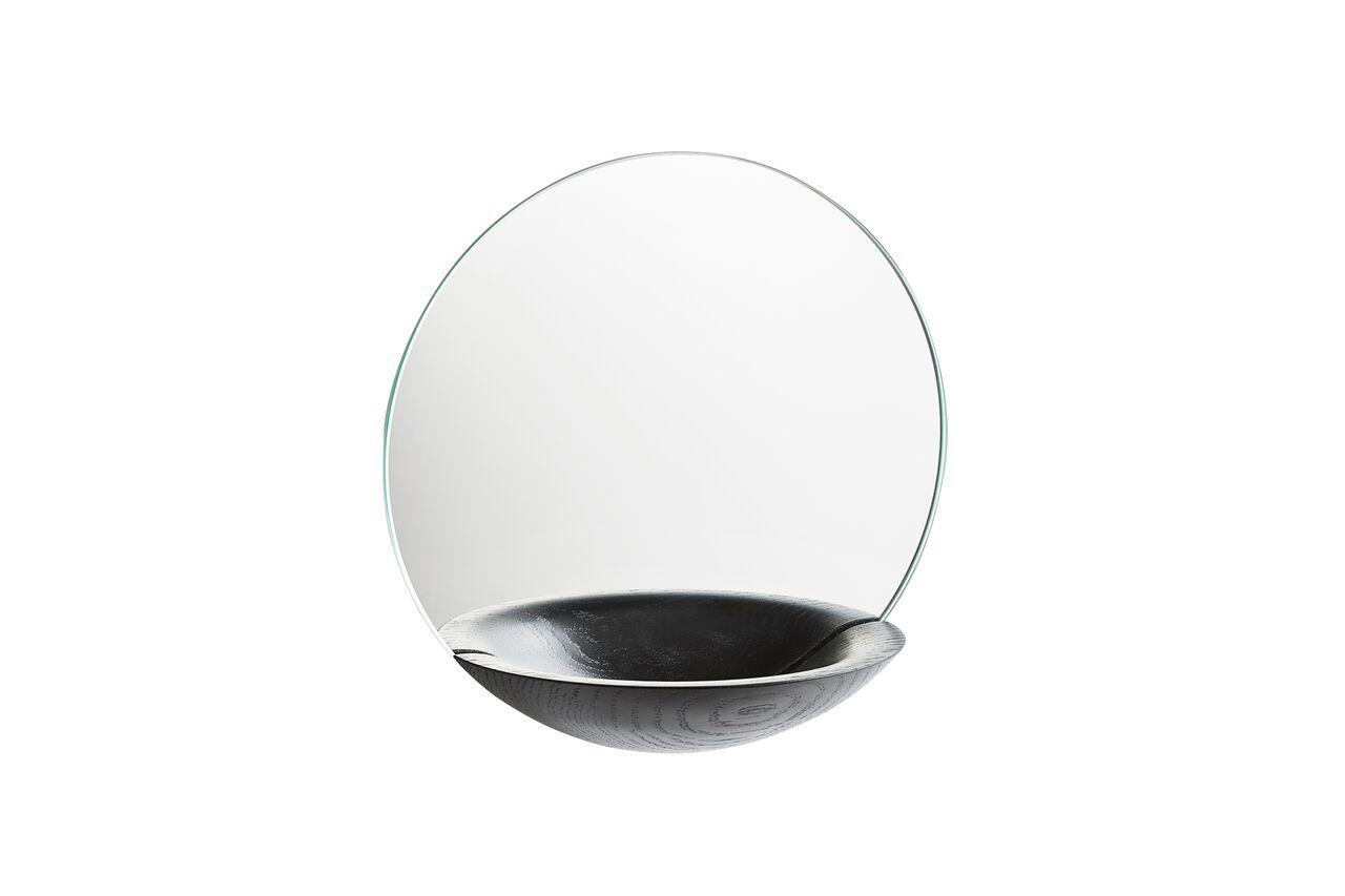 Pocket Mirror - Set of 2 Black, Small
