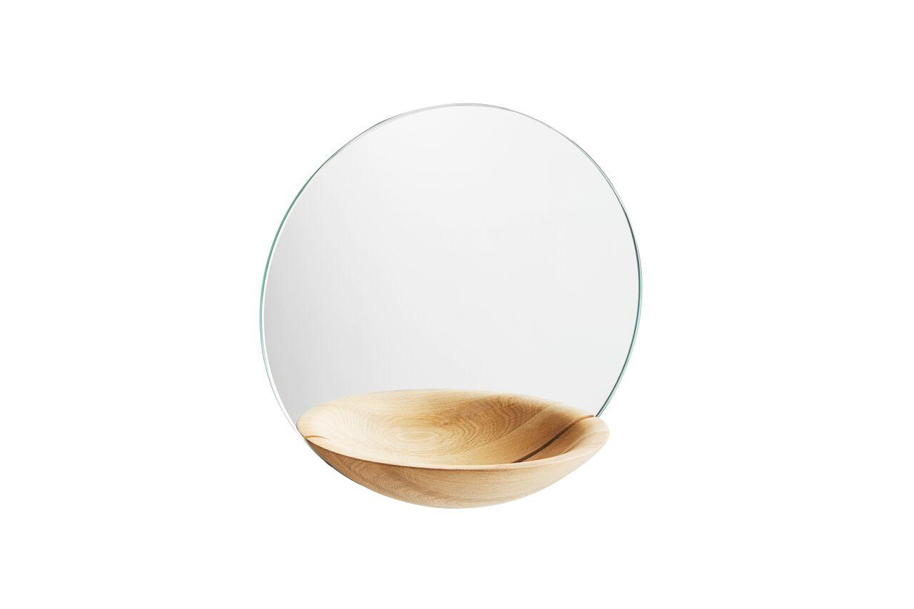 Pocket Mirror - Set of 2 Oak, Small