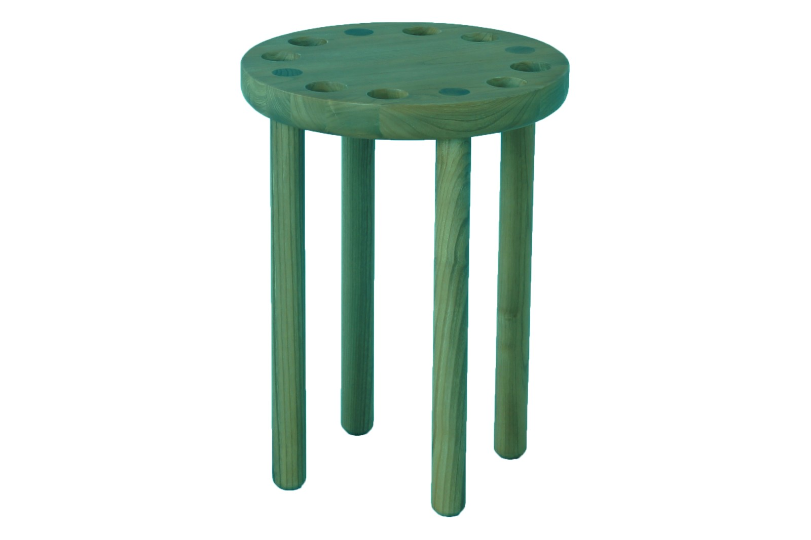 Poke Stool Green
