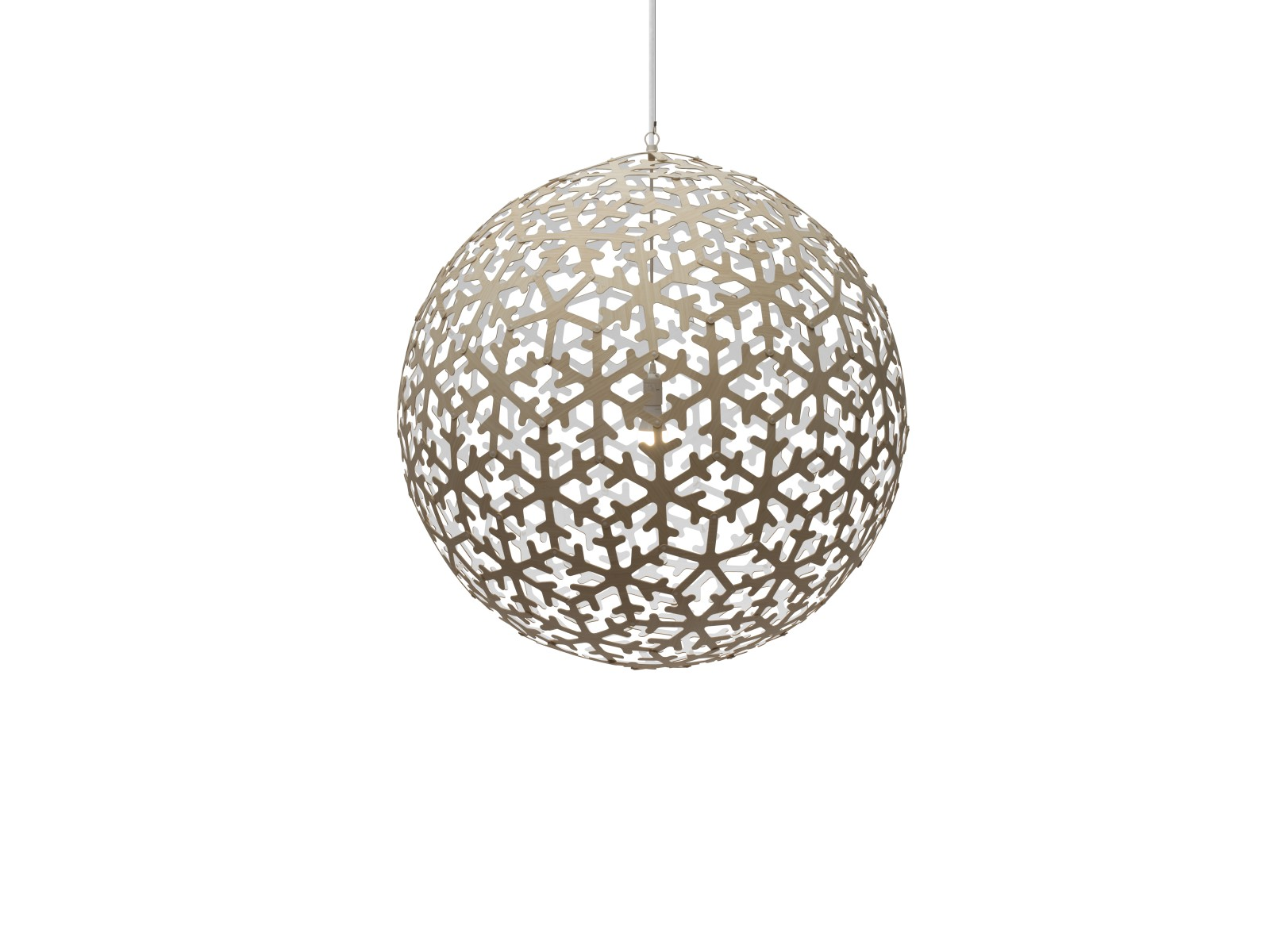 Pola Pendant Light White 1 Side, Small