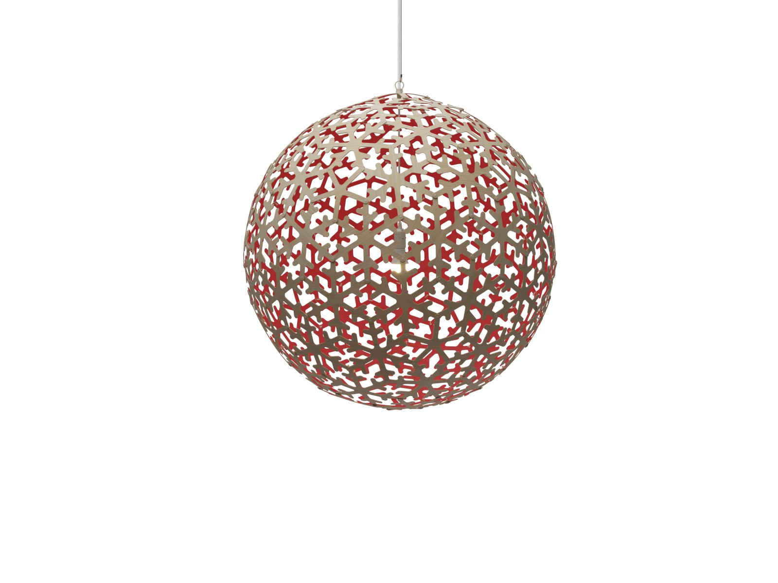 Pola Pendant Light Red, Small