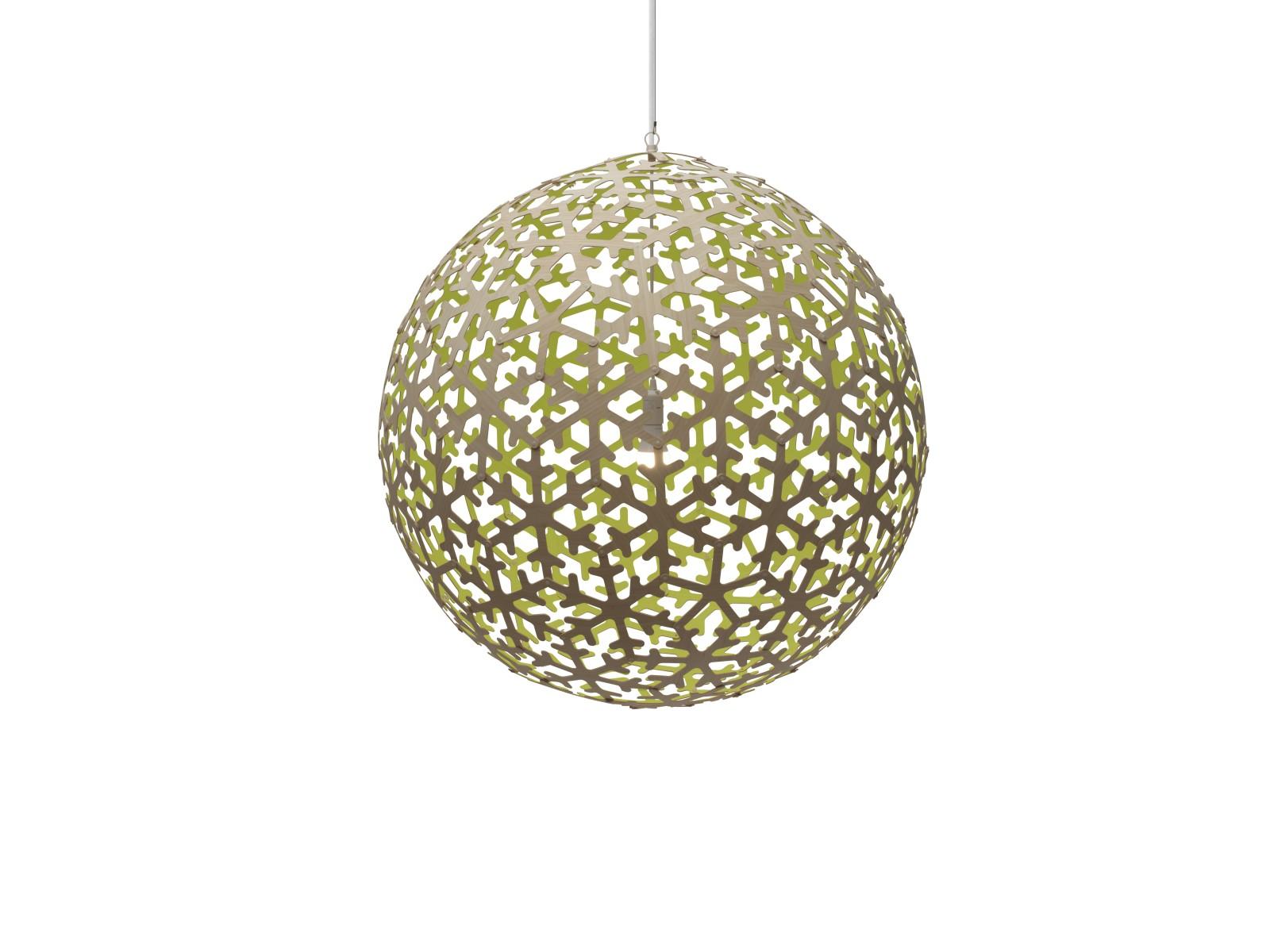 Pola Pendant Light Lime, Large